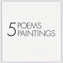 5 poems, 5 paintings
