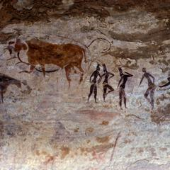 Petroglyph : Animals and People