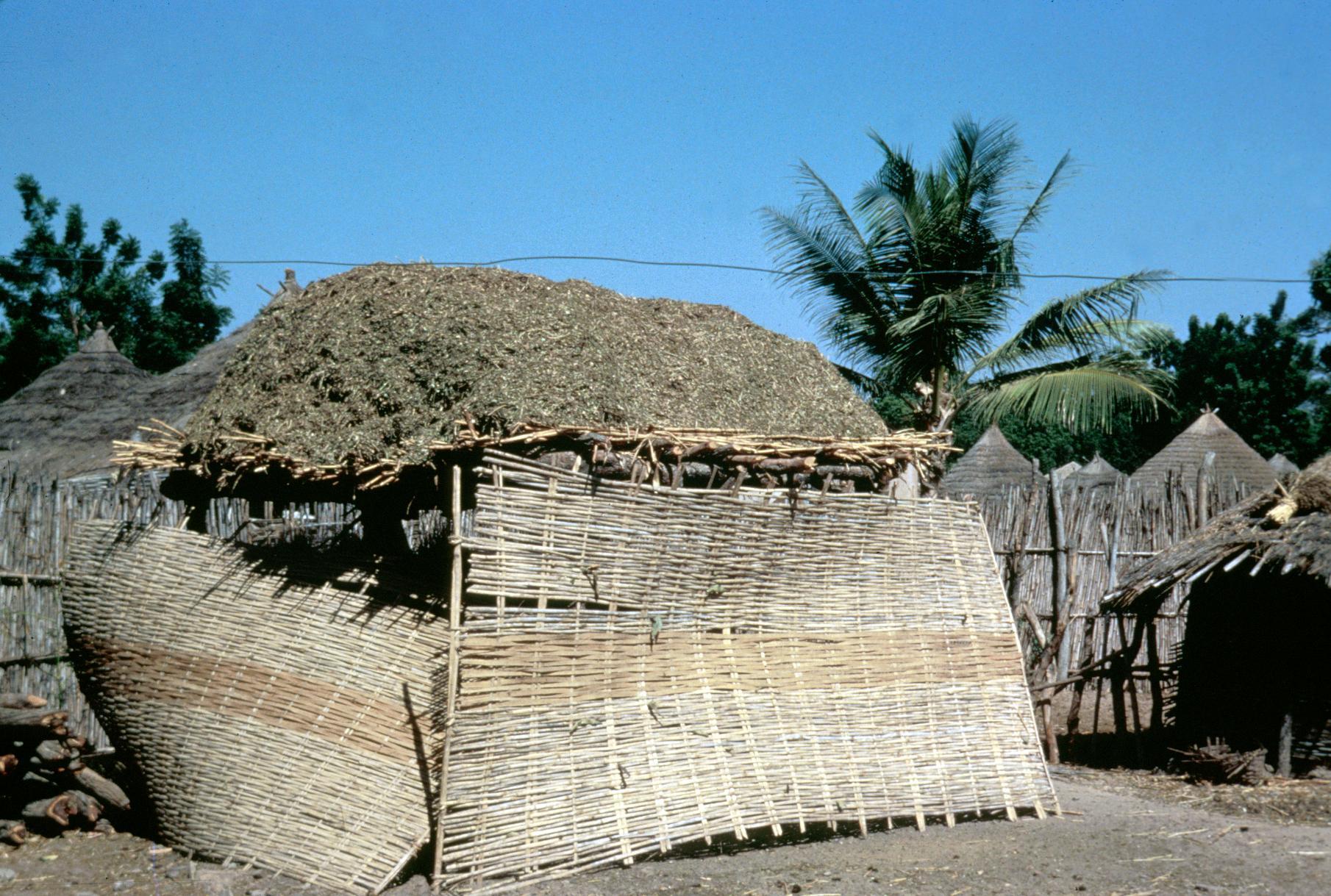 Storing Grains in Dry Season