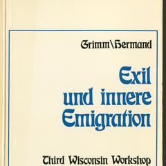Exil und innere Emigration