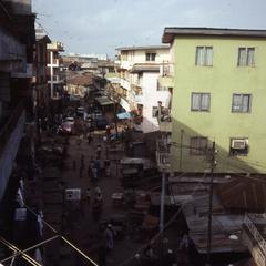 Bridge Street in Lagos