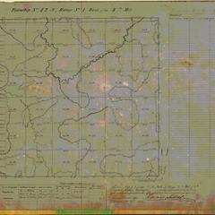 [Public Land Survey System map: Wisconsin Township 42 North, Range 01 West]