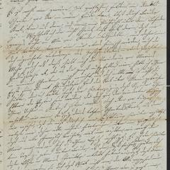 [Letter from Julie Sternberger to her brother, Jakob Sternberger, May 2, 1853]