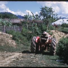 Yao village--tractor