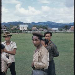 Nam Tha : interested onlookers