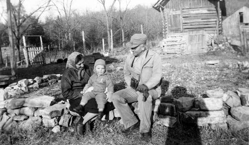Aldo, Estella, and Fritz Leopold