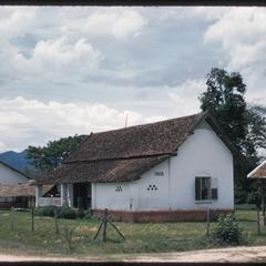 Muang Sing-two storied house