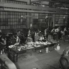 Simmons factory interior