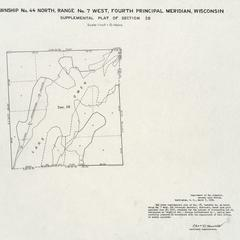 [Public Land Survey System map: Wisconsin Township 44 North, Range 07 West]