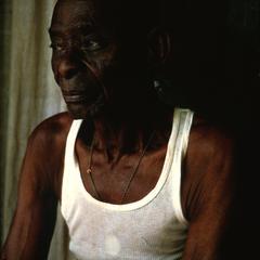 Joseph, the First Employee of Dr. Albert Schweitzer Shown in Retirement at Schweitzer's Hospital