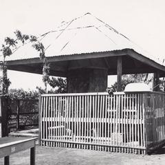 Water storage tank in Houei Kong in Attapu Province