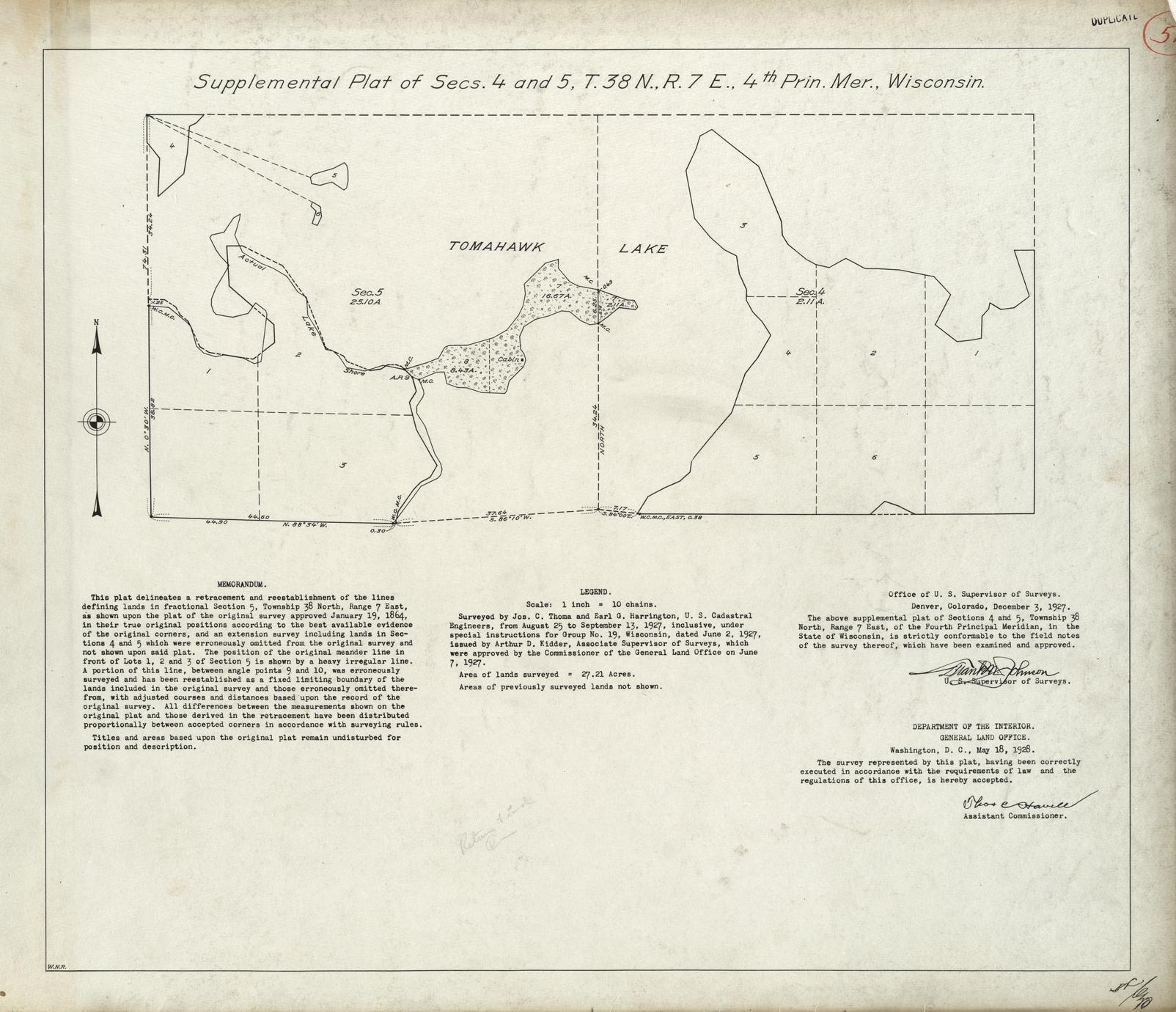 [Public Land Survey System map: Wisconsin Township 38 North, Range 07 East]