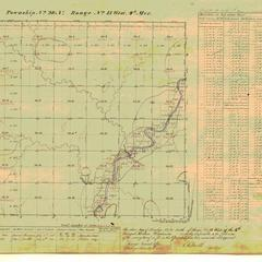 [Public Land Survey System map: Wisconsin Township 28 North, Range 13 West]