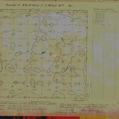 [Public Land Survey System map: Wisconsin Township 44 North, Range 01 West]