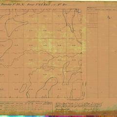 [Public Land Survey System map: Wisconsin Township 37 North, Range 14 East]