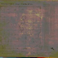 [Public Land Survey System map: Wisconsin Township 35 North, Range 15 West]