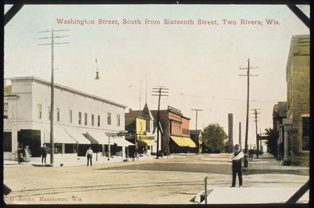 Washington Street, Two Rivers