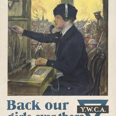Y.W.C.A. United War Work Campaign poster