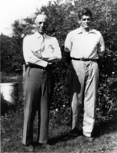 Aldo Leopold and Albert Hochbaum