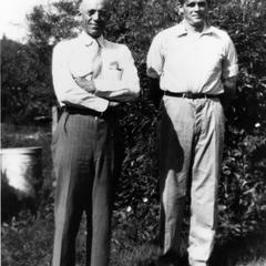 Aldo Leopold and Albert Hochbaum