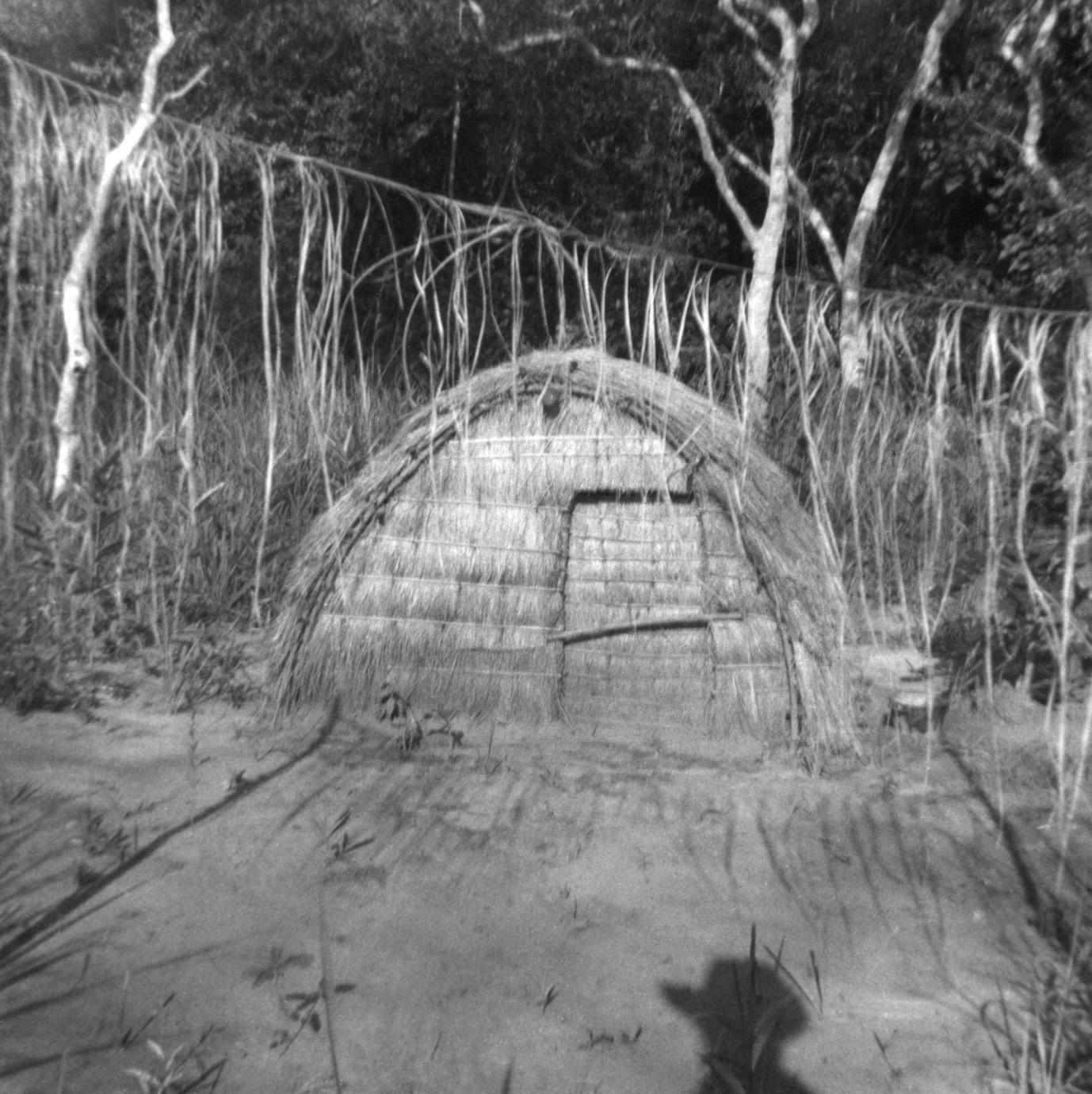 Close-up of House for Ancestral Spirits, Ifuri