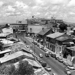 Major Thoroughfare in Downtown Addis Ababa, 1958-60