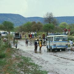 Dirt Road in Rainy Season