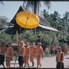 2500th Anniversary of Buddhism : Kammu (Khmu') guards