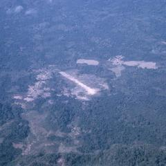 Aerial photograph of airstrip