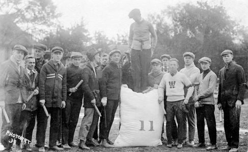 Class Rush, early 1900s