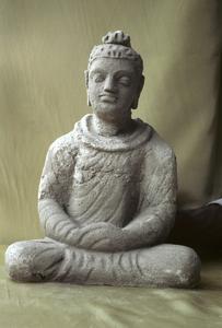 NG385, Stucco Buddha