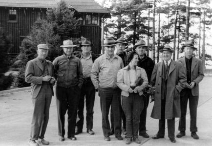 Aldo Leopold with Wilderness Society group