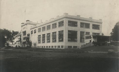 Thompson's Malted Food Company, Waukesha, northwest view
