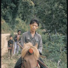 Hmong (Meos) with ponies