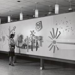 UW Center-Sheboygan lobby mural