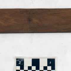 Wooden blade