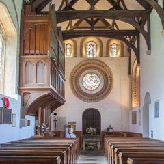 Iffley St Mary Church west end