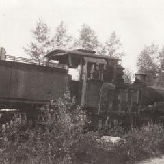 Discarded Lima engine