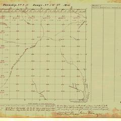 [Public Land Survey System map: Wisconsin Township 09 North, Range 05 West]
