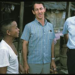 American visitors with Nai Ban