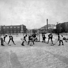 Ice hockey squad