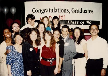 Multicultural Student Center graduates in 1990