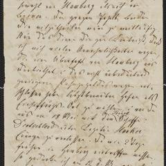 [Letter from (Paul Schwarzenfeld?) to Jakob Sternberger, May 1, 1850]