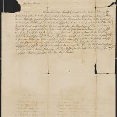 [Letter from correspondent in Weimar to Bruno Gersdorff, May 30, 1850]