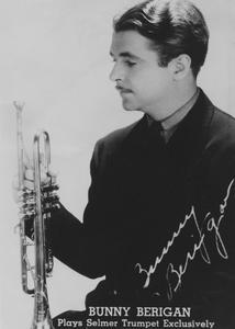 Bunny Berigan Plays Selmer Trumpet Exclusively