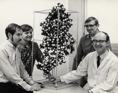 Robert M. Bock with students