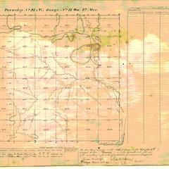 [Public Land Survey System map: Wisconsin Township 27 North, Range 17 West]