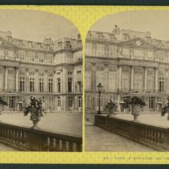 Cour d'honneur du Château de St. Cloud
