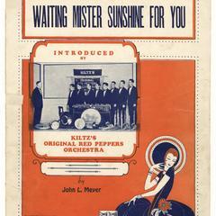 Waiting Mister Sunshine for you