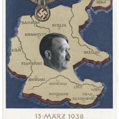 13 März 1938 : Ein Volk, ein Reich, ein Führer